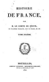 Histoire de France: Volume6
