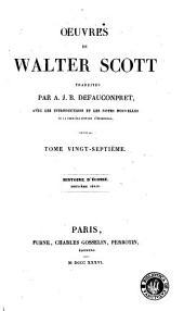 Histoire d'Écosse: Volume2