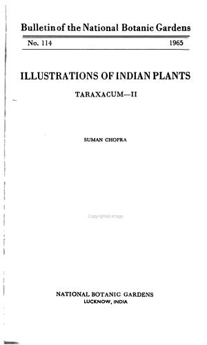 Bulletin of the National Botanic Gardens
