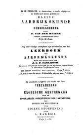 Aardrijkskunde voor schoolgebruik: naar de Schulgeographie van J.G.F. Cannabich bewerkt, Volume 1