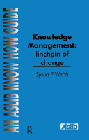Knowledge Management  Linchpin of Change PDF