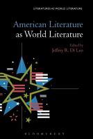 American Literature as World Literature PDF