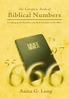 The Complete Book of Biblical Numbers PDF