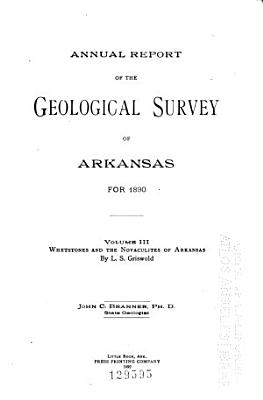 Annual Report of the Geological Survey of Arkansas PDF
