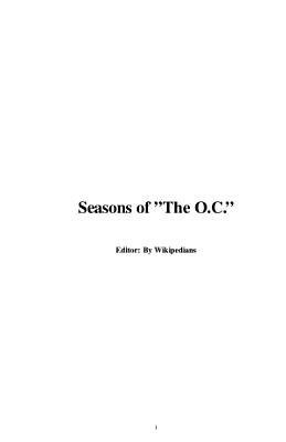 Seasons of   The O C    PDF