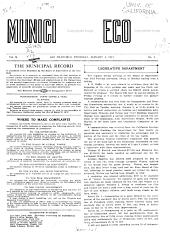 Municipal Record