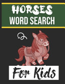 Horses Word Search for Kids PDF
