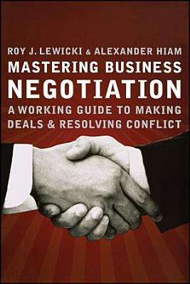 Mastering Business Negotiation PDF