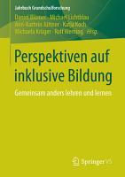 Perspektiven auf inklusive Bildung PDF