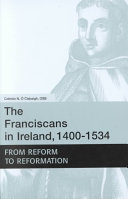 The Franciscans in Ireland  1400 1534 PDF
