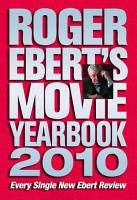 Roger Ebert s Movie Yearbook 2010 PDF