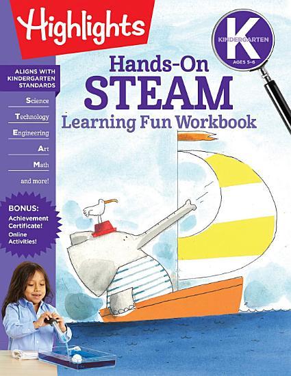 Kindergarten Hands On STEAM Learning Fun Workbook PDF