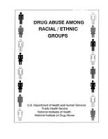 Drug Abuse Among Racial Ethnic Groups PDF
