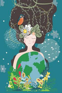 Beautiful Mother Earth Holding Planet Earth 2019 to 2020 Mid Year Journal