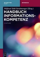 Handbuch Informationskompetenz PDF