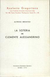 La soteria in Clemente Alessandrino
