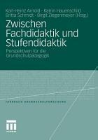 Zwischen Fachdidaktik und Stufendidaktik PDF