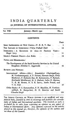India Quarterly PDF