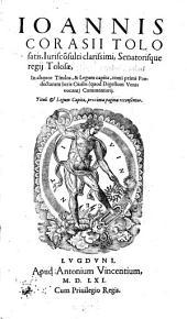 In aliquot Titulos ... Tomi primi Pandectarum Commentarii