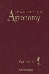 Advances in Agronomy: Volume 75