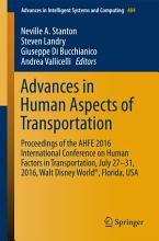 Advances in Human Aspects of Transportation PDF
