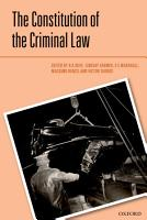 The Constitution of the Criminal Law PDF