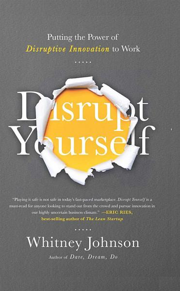 Download Disrupt Yourself Book