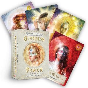 Goddess Power Oracle Book