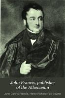 John Francis  Publisher of the Athen  um PDF