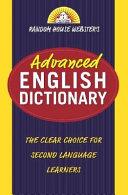 Random House Webster's Advanced English Dictionary