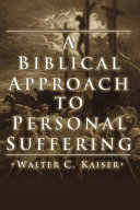 A Biblical Approach to Personal Suffering