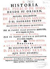 Historia del pueblo de Dios: desde su origen hasta el nacimiento del Messias ...