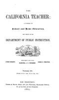 The California Teacher PDF