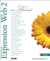 Microsoft Expression Web 2 On Demand PDF