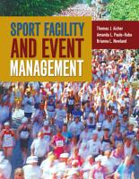 Sport Facility and Event Management PDF