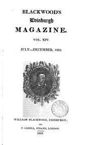The Edinburgh monthly magazine [afterw.] Blackwood's Edinburgh magazine [afterw.] Blackwood's magazine: Volume 14