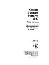 County business patterns, West Virginia
