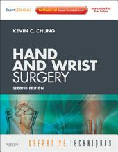 Operative Techniques: Hand and Wrist Surgery E-Book: Edition 2