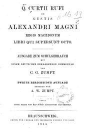 De Gestis Alexandri Magni Regis Macedonum libri qui supersunt octo