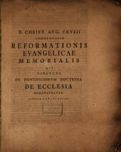 Commentatio reformationis evangelicae memorialis qua circulus in Pontificiorum doctrina de Ecclesia demonstratur