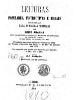 Leituras populares  instructivas e moraes PDF