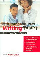 Encouraging Your Child s Writing Talent PDF