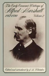 Early Economic Writings, 1867-90