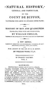 Natural History, General and Particular: Volume 1
