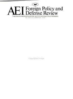 AEI Foreign Policy and Defense Review PDF