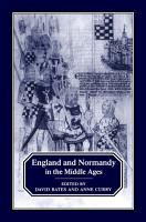 England and Normandy in the Middle Ages PDF