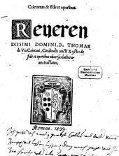 De fide et operibus adversus Lutheranorum Tractatus