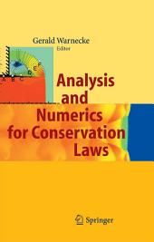 Analysis and Numerics for Conservation Laws