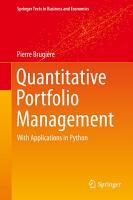Quantitative Portfolio Management PDF