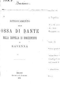 Di Dante da Majano e di una recente monografia del prof  Borgognoni  Studi di antica letteratura PDF